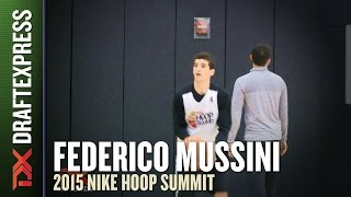 Federico Mussini - 2015 Nike Hoop Summit - Shooting Drills