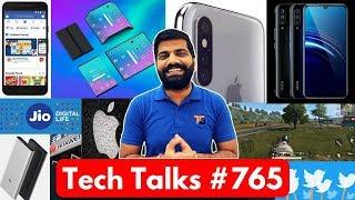 Tech Talks #765 - PUBG 16 Arrest, Facebook AI, IQOO India, Xiaomi Folding Phone, Jio Speed