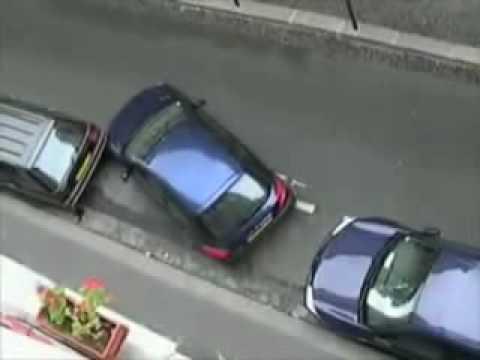 Como estacionar um carro..