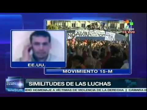Occypy Wall street - El movimiento Occupy Wall Street naci en Nueva York, Estados Unidos, influenciado por la primavera rabe y el movimiento de los Indignados de Espaa, 15-M, ...
