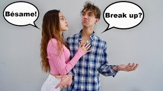 SPEAKING ONLY SPANISH TO MY BOYFRIEND FOR 24 HOURS! (he went crazy..)