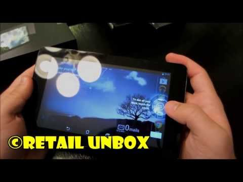 ASUS MeMO Pad 7 HD Unboxing & Overview (ME172V-A1-WH)