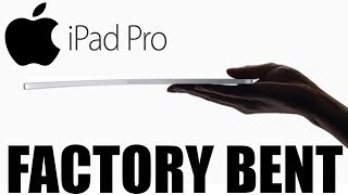 iPad Pros Are Shipping Bent From The Factory. Apple Says This Is OK