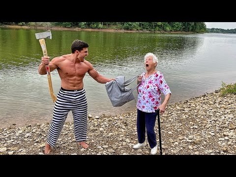Grandma's Self Defense Class #3 | Ross Smith ft. Houston Jones