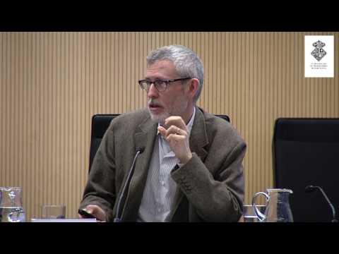 Miquel-Àngel Serra ha participado en la jornada 'Inteligencia artificial y transhumanismo' en Barcelona