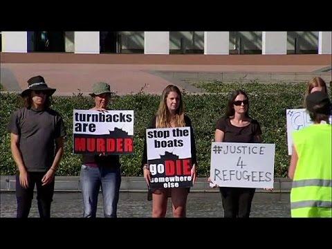 Αυστραλία: Συγκρούσεις αστυνομικών – διαδηλωτών για το μεταναστευτικό