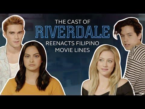 Riverdale Cast Reenacts Filipino Movie Lines (Cole Sprouse, KJ Apa, Lili Reinhart, Camilia Mendes)