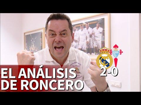 """Real Madrid 2 Celta 0   Roncero: """"Zidane tiene un don divino, ¡hasta Bale celebró el gol!""""   Diario"""