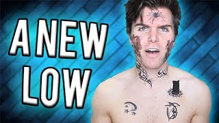 """Recently the legend known as Onision has hit a new all-time low. He got """"face tattoos"""", makes videos with his deluded fans and overall is just losing his sanity. His views have nit a new low as well. Let's see what's happening to the Onion Boy. Smash like, comment, subscribe, thx xoxo---------------------------------Twitch ► http://www.twitch.tv/nfkrzFacebook ► https://www.facebook.com/NFKRZ1Instagram ► https://instagram.com/roman_nfkrz/Steam Group ► http://steamcommunity.com/groups/nfkrzgroup---------------------------------Music:---------------------------------Outro music ► MajorLeagueWobs/Holder - D I S T A N T"""