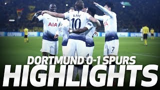 HIGHLIGHTS | DORTMUND 0-1 SPURS (UEFA Champions League Round of 16 second leg)
