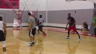 Scarlet & Gray practice for The Basketball Tournament  - ELEVENWARRIORS.COM