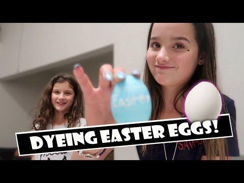 Dyeing Easter Eggs 🥚 (WK 378.4)   Bratayley