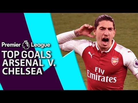 Video: Arsenal v. Chelsea | Top 5 Premier League Goals | NBC Sports