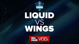 Liquid vs Wings, game 1