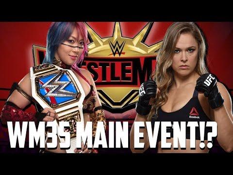 Asuka vs Ronda Rousey Main Eventing Wrestlemania 35!? (Asuka's first lost?)