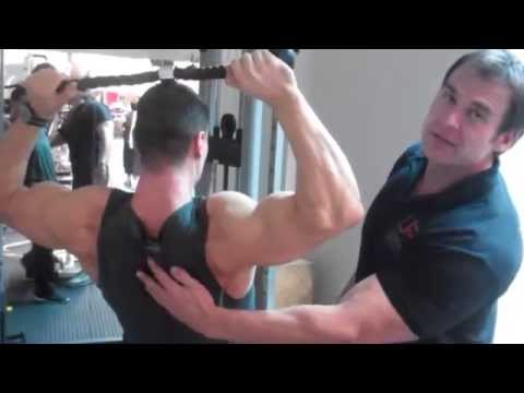 exercise - The importance of doing face pulls and external rotations for shoulder exercise, rotator cuff health and overall muscular balance and development. Nick Mitch...