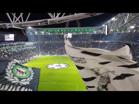 Juventus - Tottenham 2-2 (Formazione, Inno e Coreografia 13-03-2018) |UHD|