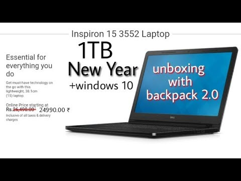 dell inspiron 15 3552 laptop hindi