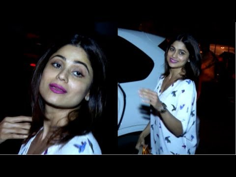Actress Shamita Shetty Spotted In Juhu