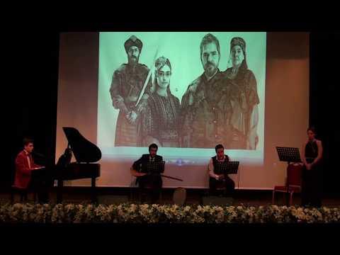 Osmanlı ve Türk Televizyon Dizileri Diriliş Dizi Film Jenerik Müziği Piyano Konseri