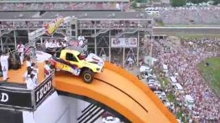 World record car jump!