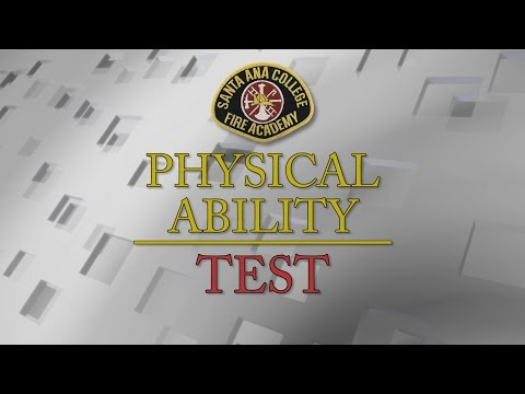 Physical Ability Test for Entry Level Firefighters