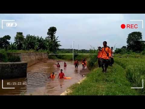 Detik Detik Pencarian Timsar Dan Warga Untk Anak 5 Tahun Tenggelam Di Sungai Mantingan - Tegalsambi