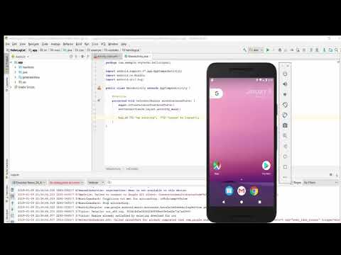 Android 2019 : How to output to Logcat window in Android Studio