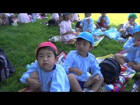 笠間 友部 ともべ幼稚園 子育て情報「年長 園外保育 お昼ご飯」