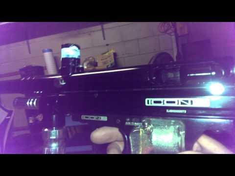 32 Degrees Icon LED paintball gun