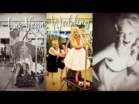 Las Vegas Rockabilly Wedding \\ Vintage Style(Super 8mm) \\ Lighten Films