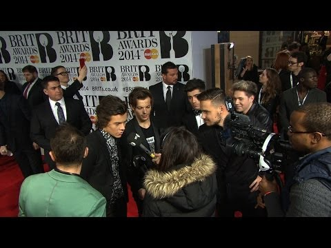 One Direction and Paul - 19.02.2014 - At the Brit Awards (London)