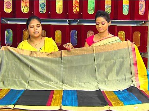 Latest Collection of Lightweight Pattu and Designer Sarees | Sogasu Chuda Tarama | Vanitha TV 26 June 2015 12 55 PM