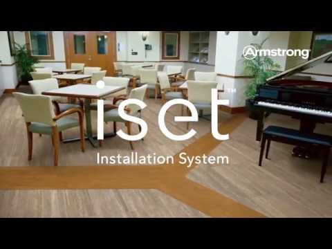 Armstrong Flooring iset™ installation system