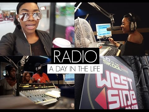 #VLOG: A DAY IN THE LIFE OF A RADIO PRESENTER!   TIMEFORTEE