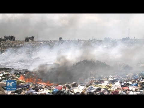 Inside one of the biggest e-waste dumps in the world in Ghana