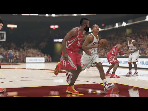 NBA - NBA 2K14 My Career NBA Finals Gameplay! The Rockets big 3 of James Harden, Dwight Howard, and Patrick Beverly roll into Cleveland looking to tie the series up Follow me on Twitter: http://www.twit...
