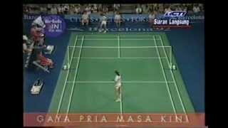 Video Final Bulutangkis Tunggal Putri Olimpiade - Susi Susanti VS Bang Soo Hyun @ RCTI 1992 (Part 1) MP3, 3GP, MP4, WEBM, AVI, FLV Agustus 2018