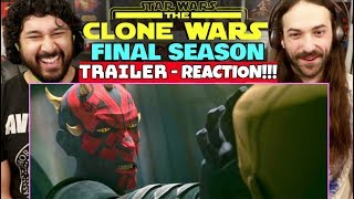 STAR WARS: THE CLONE WARS   Final Season TRAILER - REACTION!!! by The Reel Rejects