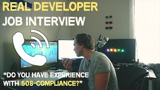 What a REAL web developer interview is like (Front End)