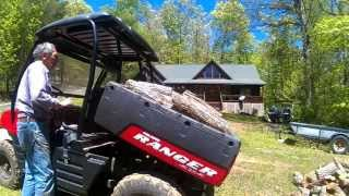 6. Polaris Ranger Power Dump Bed Installation. (No Welding)