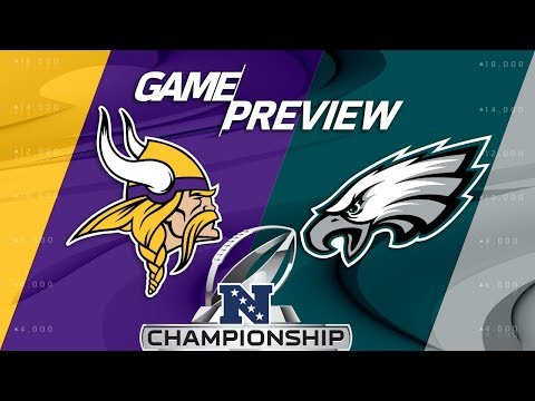 Minnesota Vikings vs. Philadelphia Eagles | NFC Championship Game Preview | NFL (видео)