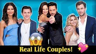 Video Real Life Couples of Avengers: Infinity War 💖💖 MP3, 3GP, MP4, WEBM, AVI, FLV September 2018