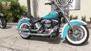 10. 2016 Harley Davidson FLSTN Softail Deluxe New Color