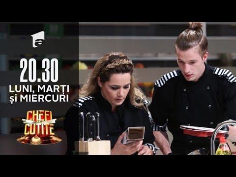 Chefi la cuțite | Maria Sandu și Adrian Luca, ceartă și obiecte aruncate prin bucătărie