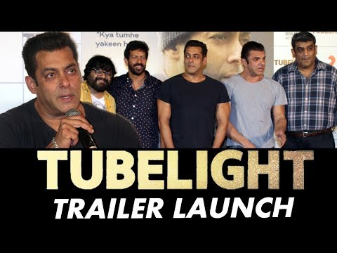 Tubelight Trailer Launch | Salman Khan, Sohail Khan, Kabir Khan