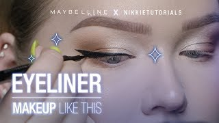 Nonton Step Your Eyeliner Game Up With Nikkietutorials  Tips   Maybelline New York Film Subtitle Indonesia Streaming Movie Download