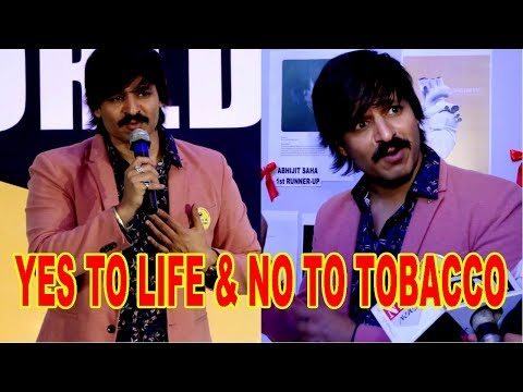 Vivek Oberoi Supports YES TO LIFE & NO TO TOBACCO On The Eve Of No Tobacco DayVivek Oberoi Supports YES TO LIFE & NO TO TOBACCO On The Eve Of No Tobacco Day