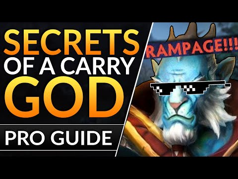 HOW PROS can CARRY ANY GAME: Safelane Tips & Tricks to FARM FAST and DESTROY   Dota 2 Pro Guide