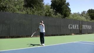 Tennis Highlights, Video - Tennis 2nd Serve Racket Head Speed